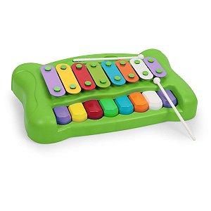 Brinquedo Para Bebê Piano Xilofone Do-Re-Mi Homeplay