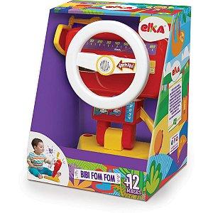 Brinquedo Para Bebê Volante Bibi Fom Fom C/Sons Elka
