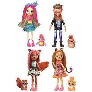 Brinquedo Para Menina Enchntmls Sort Bon E Bich. Ii Mattel