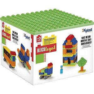 Brinquedo Para Montar Block Legal 86 Pecas Homeplay