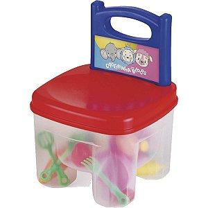 Brinquedo Para Montar Cadeirinha C/Blocos Homeplay