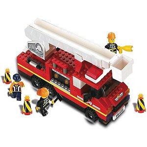Brinquedo Para Montar Defensores Bombeiros 240pcs Xalingo