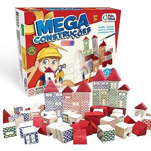 Brinquedo Para Montar Mega Construã‡Ã•Es 45 Pecas Pais E Filhos