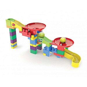 Brinquedo Para Montar Super Circuito 52 Pecas Dismat