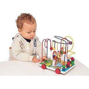 Brinquedo Pedagógico Borboleta Aramada Carlu