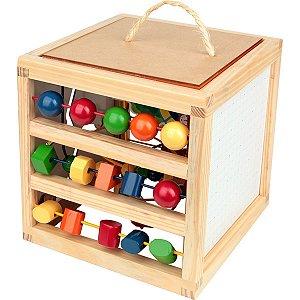 Brinquedo Pedagógico Casinha Aramada Carlu
