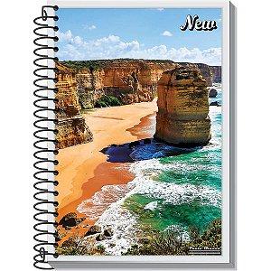 Caderno 01x1 Capa Dura 2020 New 96fls. Pauta Branca