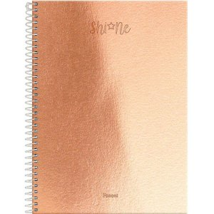 Caderno 01x1 Capa Dura 2020 Shine 80fls. Foroni