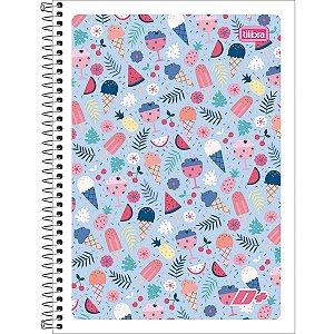 Caderno 01x1 Flexível 2021 D+ Feminino 96 Folhas Tilibra