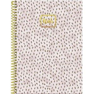 Caderno 10x1 Capa Dura 2020 Blush 160fls. Foroni