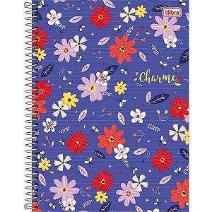 Caderno 10x1 Capa Dura 2020 Charme 160fls. Tilibra