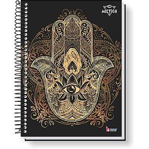 Caderno 10x1 Capa Dura 2020 Mistica 160f Tamoio