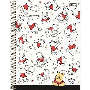 Caderno 10x1 Capa Dura 2020 Pooh 160fls. Tilibra
