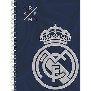 Caderno 10x1 Capa Dura 2020 Real Madrid 200fls. Foroni