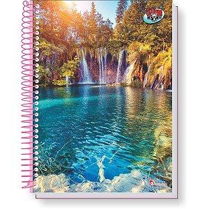 Caderno 10x1 Capa Dura 2020 Slim Pop 160f Feminino Tamoio