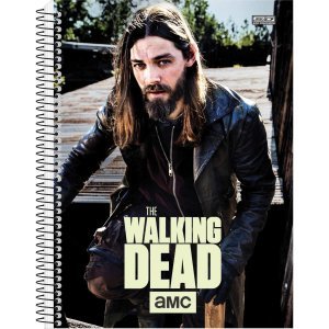 Caderno 10x1 Capa Dura 2020 The Walking Dead 200 Folhas Sao Domingos