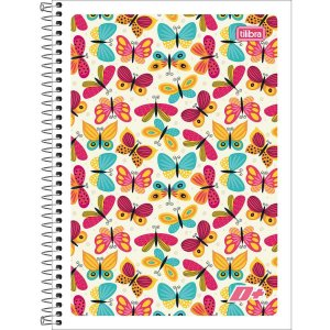 Caderno 10x1 Flexível 2021 D+ Feminino 200 Folhas Tilibra