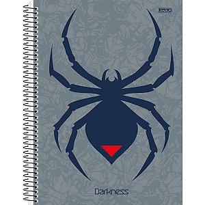 Caderno 15x1 Capa Dura 2021 Darkness 240f Sao Domingos
