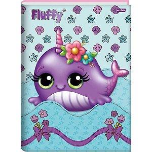 Caderno Brochurão Capa Dura Fluffy 96fls. Jandaia