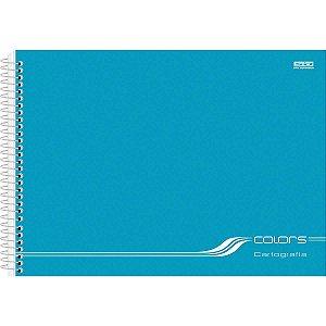 Caderno Desenho Univ Capa Dura Colors 60fls Espiral Sortido Sao Domingos