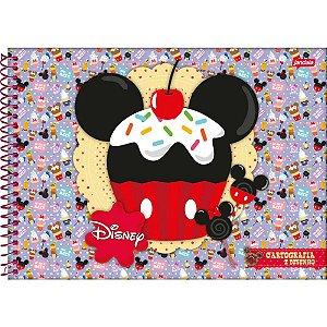 Caderno Desenho Univ Capa Dura Disney Sweetie 96fls. Jandaia