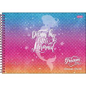 Caderno Desenho Univ Capa Dura Dream 96fls. Jandaia