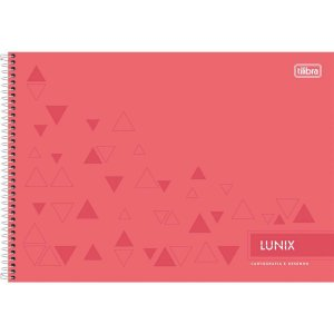 Caderno Desenho Univ Capa Dura Lunix 60fls. Esp.Univ.Horizont Tilibra