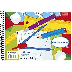 Caderno Desenho Universitário 48fls. S/Seda Foroni