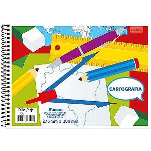 Caderno Desenho Universitário 96fls. S/Seda Foroni