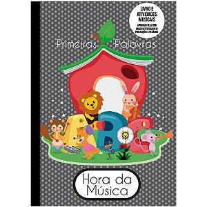 Caderno Música Liv.Abc C/Teoria Mus.Cd52f Romitec