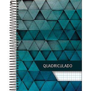 Caderno Quadriculado Univers. 1x1cm 96fls. Espiral Cd Foroni