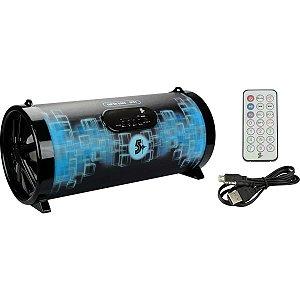 Caixa Acústica 20w Rms Bluetooth/Usb/Sd/Fm Santana Centro