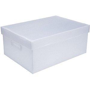 Caixa Organizadora Novaonda Cristal Exg 47x33x22 Polibras