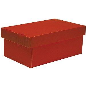 Caixa Organizadora Novaonda Vermelha Mini 285x175 Polibras