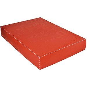 Caixa Organizadora Padrao Camisa Vermelho Dello