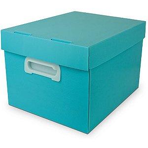 Caixa Organizadora The Best Box M 370x280x212 Vdp Polibras