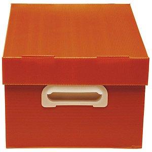 Caixa Organizadora The Best Box M 370x280x212 Vm Polibras