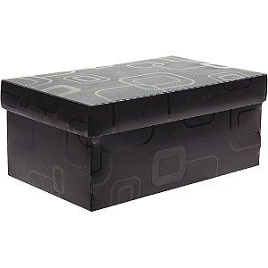 Caixa Organizadora Top Fine Sapato 28x17x20cm.Pto Dello