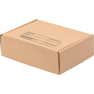 Caixa Para Correspondência Kraft N.1 160x120x60mm Polycart