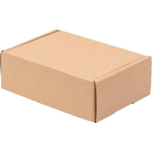 Caixa Para Correspondência Kraft N.2 200x140x70mm Polycart