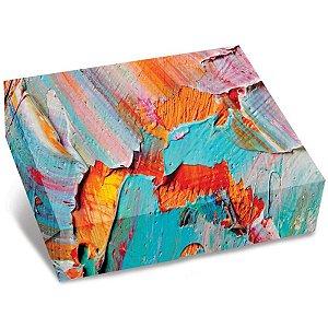 Caixa Para Presente Decorada Cartucho Pq(19,5x4x15cm) Sort. Gala