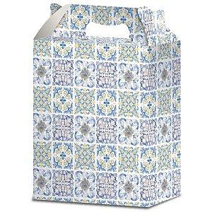 Caixa Para Presente Decorada Maleta Pq(16,5x7xx19,5cm) Sort Gala
