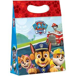 Caixa Para Presente Decorada Patrulha Canina Plus 18x7,5x25 Packpel
