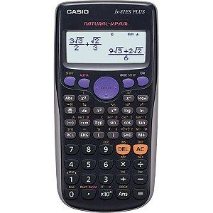 Calculadora Cientifica Fx82 Esp. 252 Funcoes Preta Casio