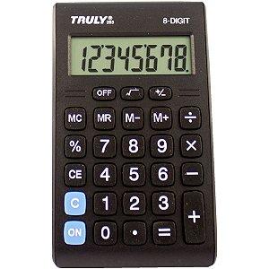 Calculadora De Bolso Trully 8 Digitos Mod.283 Procalc