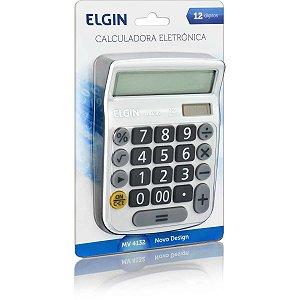 Calculadora De Mesa 12dig.Visor Lcd Solar/Bat Bran Elgin