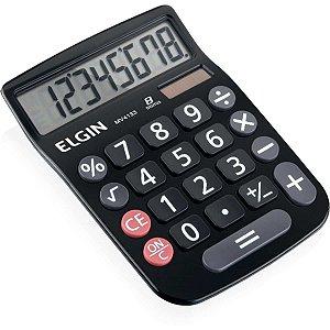 Calculadora De Mesa 12dig.Visor Lcd Solar/Bat Pret Elgin