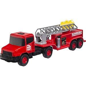 Caminhão Comboio Bombeiro Cardoso Toys
