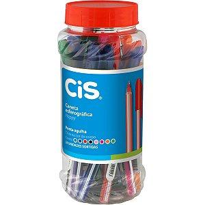 Caneta Esferográfica Cis Happy Cores Sortidas 0.7mm Sertic