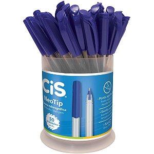 Caneta Esferográfica Cis Neotip Azul 0.7mm Sertic